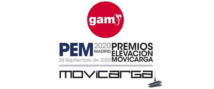 GAM, patrocinador ORO en los V Premios de Elevación MOVICARGA