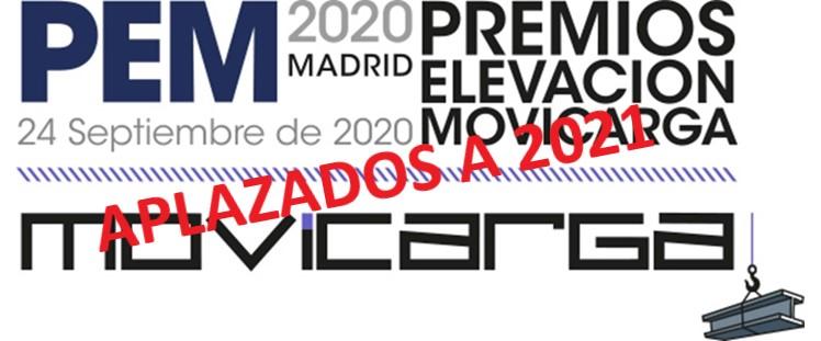 Los Premios MOVICARGA se aplazan para 2021 y ANAPAT pospone la celebración de su Asamblea General