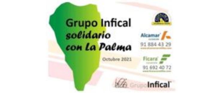 ALCAMAR, S. L. colabora en el apoyo a la economía de la isla de La Palma